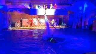 Полёты над водой  Шокирущее видео!
