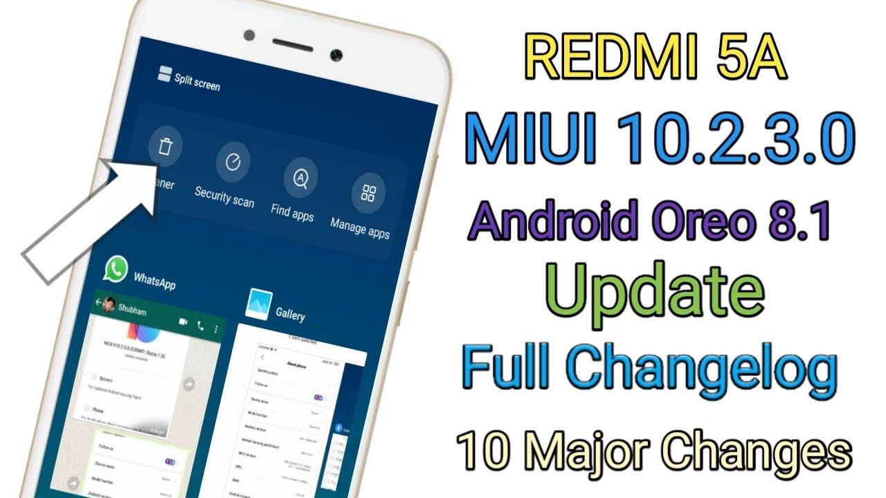 Redmi 5A MIUI 10 2 3 0 Stable Update Full Changelog||Redmi 5a MIUI 10 2 3 0  Update Full Review