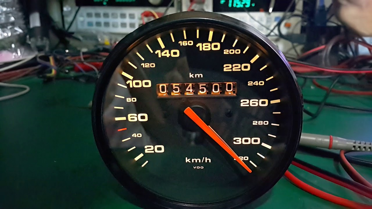 PORSCHE 993 TURBO ODOMETER REPAIR AND TESTED 063-997-7755