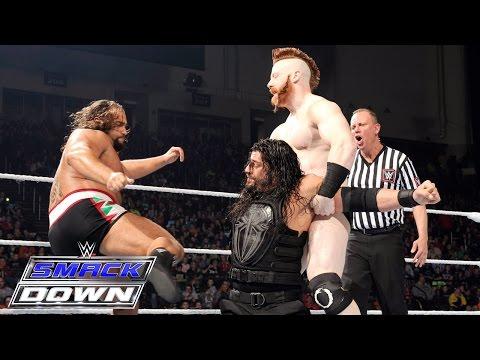 Roman Reigns vs. The League of Nations: SmackDown, Jan. 21, 2016