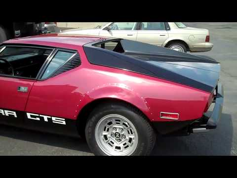 1974 De Tomaso Pantera GTS Fastest Car in World Circa 1974