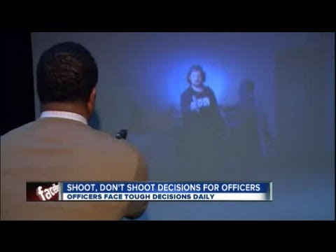 Reporter tested by Shoot-Don't Shoot police simulator