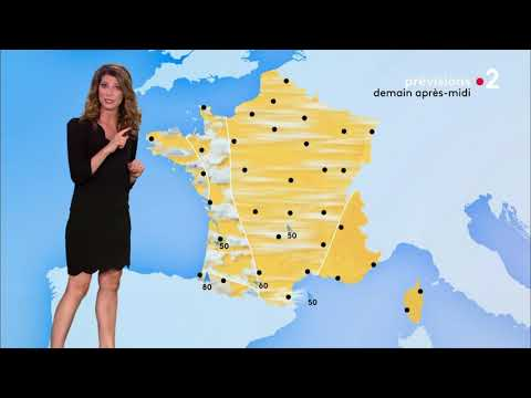 France 2 Weather/Météo - New Look Forecast - 27.8.2018