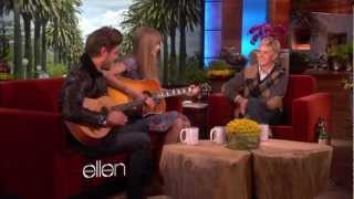 Zac Efron and Taylor Swift Sing A Duet On Ellen !