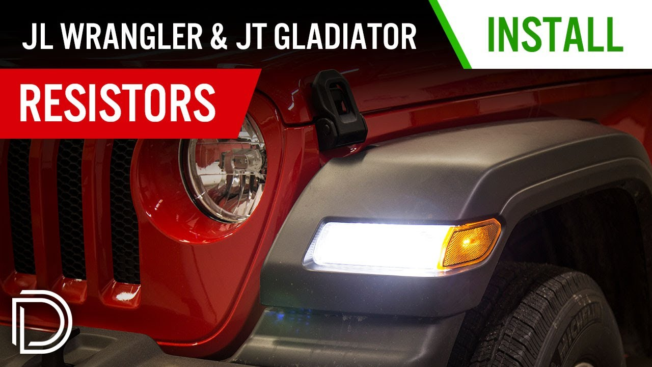 2018 jeep jl wiring diagram bulldog security m200 how to install resistors for wrangler led turn signals diode dynamics