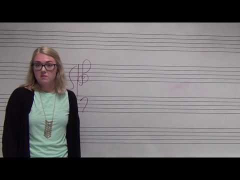 Letters of the Treble and Bass Clefs