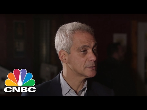 Rahm Emanuel On Reince Priebus Difficult Job As Chief Of Staff | Speakeasy | CNBC