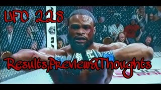 UFC PPV 228 RESULTS & REVIEW