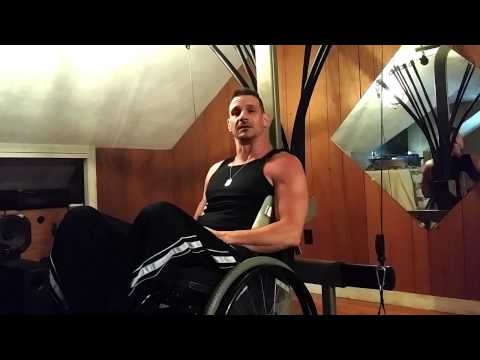 Paraplegic Workout Training Routine – Video #4 – Chest Exercise 1