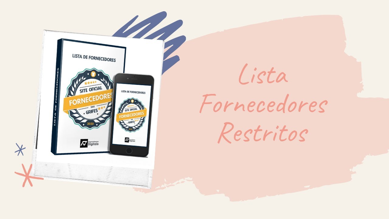 fornecedores restritos site oficial