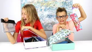 Download Mystery Box of Back to School Switch-Up Challenge!!! Mp3 and Videos