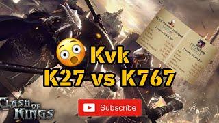 Clash of Kings - KvK K27 vs K767 🤩💯