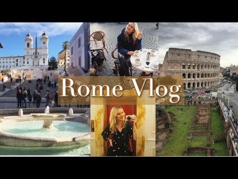 My Rome Travel Vlog   February 2017