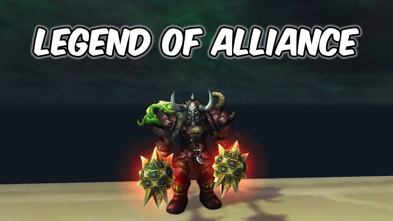 LEGEND OF ALLIANCE - Fury Warrior PvP - WoW BFA 8.3