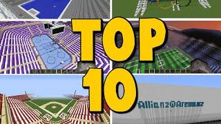 TOP 10 Minecraft Stadiums - GIGANTIC CREATIONS - Brothers
