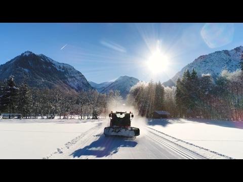Film: Präparierung - Langlaufloipen