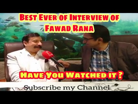This Punjabi Interview of Rana Fawad will Get Popularity Worldwide- Must Watch