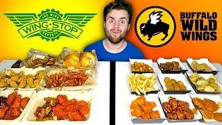 WINGSTOP vs. BUFFALO WILD WINGS - Restaurant Taste Test!