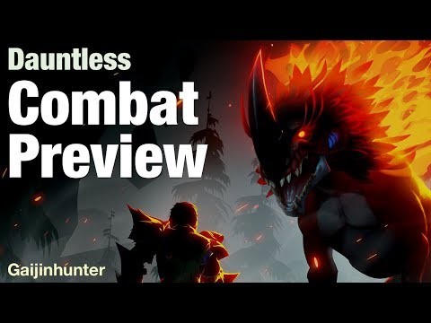 Dauntless: Combat Preview