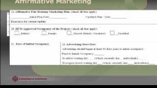 affirmative fair housing marketing plan