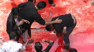 Bloodshed at Panja Sharif Karbala- Muharram