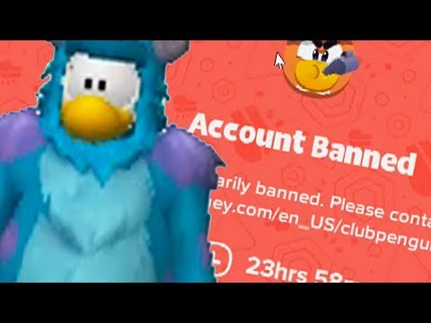 BANNED FROM CLUB PENGUIN ISLAND