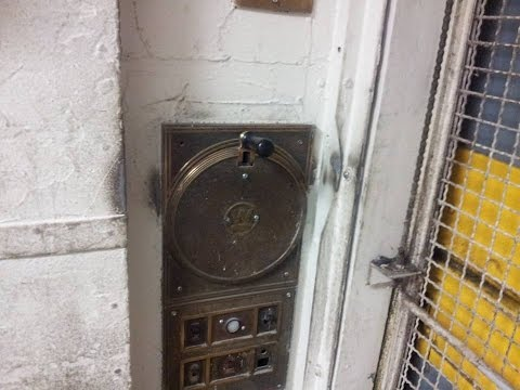 Westinghouse Manually Controlled Freight Elevator at Merchandise Mart in Downtown Chicago, IL.