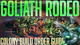 Halo Wars 2: Goliath Rodeo! Colony DLC Build Order Guide