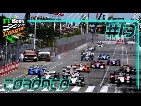 Auf den Spuren der IndyCar! - Rennen 13: Toronto | FORMEL E KARRIERE | F1 Bros League | KrazyKennez
