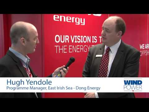 Hugh Yendole, from Dong Energy, interviewed at Offshore Wind 2013