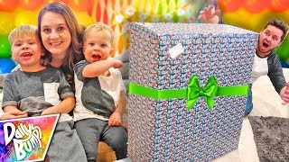 Family Surprises Dad With Huge Birthday Present!