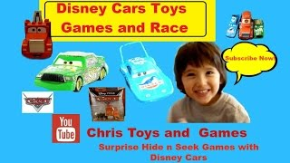 The King Cars Chick Hicks Mack - Disney Car toys game hide n seek rc monster truck