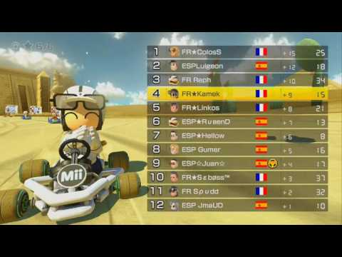 [MK8] World Cup 2016 - France vs. Spain - Day 3