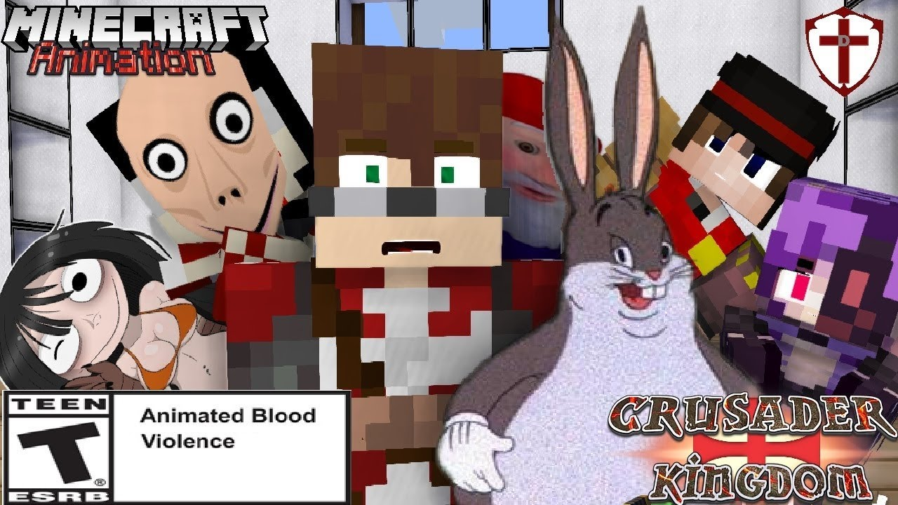 Momo S Big Chungus Day Minecraft Animation Youtube