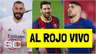 LA LIGA ESTÁ QUE ARDE. Atlético de Madrid perdió, Real Madrid y Barcelona a la caza | SportsCenter