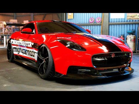 JAGUAR F-TYPE R DRIFT BUILD - Need for Speed: Payback - Part 65