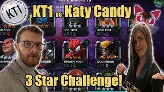 KT1 VS Katy Candy! - Death Race! 3* Master Mode!!!