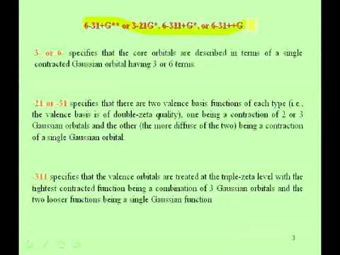 Lecture 05-Jack Simons Electronic Structure Theory- Basis sets