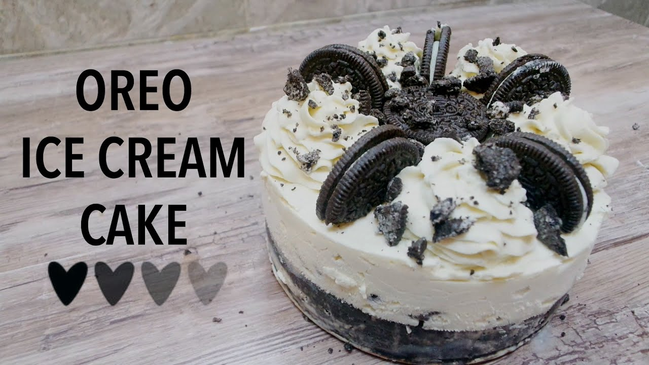 Oreo ice cream cake recipe youtube ccuart Gallery