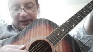 Урок гитары 8  Простой перебор
