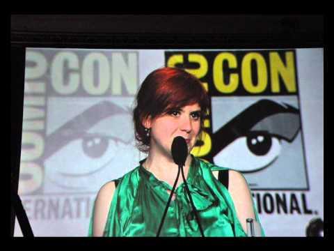 Comics & Vegetables accepting the Eisner