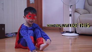 SOMETHING JUST LIKE THIS BY A 3 YEAR OLD KID WITH AMAZING VOCAL ( MUSIC VIDEO )   !!!!!!!!!