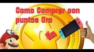 Como Comprar con Puntos Oro en Nintendo Switch