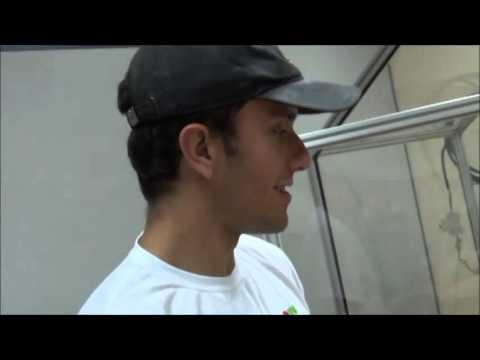 Видео Ensaio de impacto