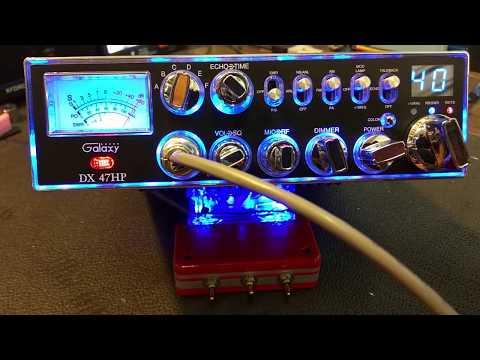 DC GALAXY DX 47 10 METER RADIO WITH MODIFY RFX-150 KIT   FunnyDog TV