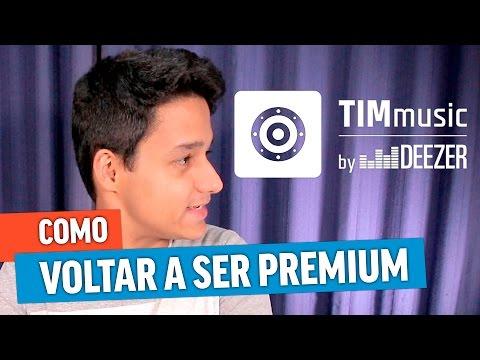 ✅RESOLVIDO: TIM MUSIC BY DEEZER GRATUIT 🎧 VOLTANDO A SER PREMIUM!