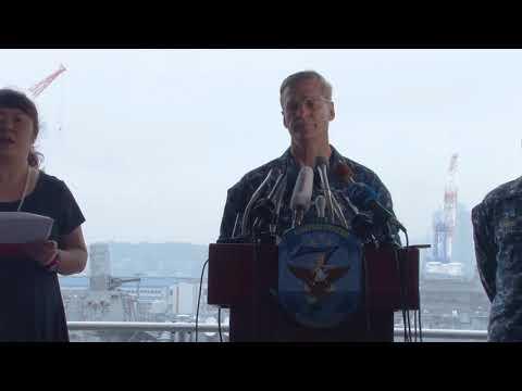 USS Fitzgerald Press Conference!