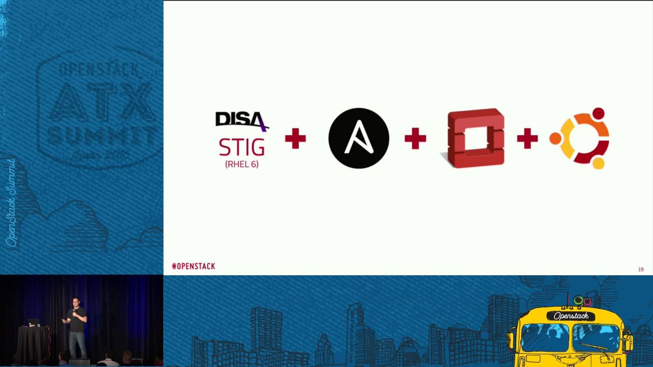 Talk Recap: Automated security hardening with OpenStack-Ansible