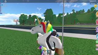 I show my you and greet a subscriber at roblox