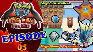 I got Mega Stone&Dynamx Ring GYM | Battle with Misty in Pokemon The last fire Red Gameplay